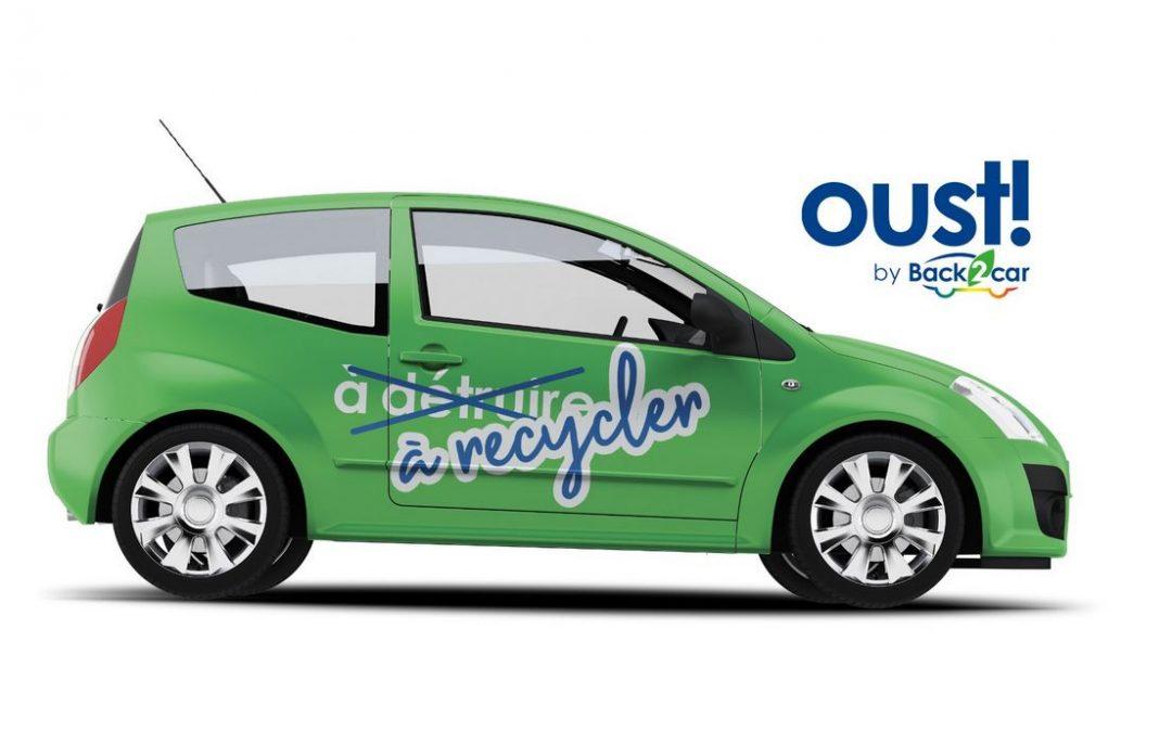 Nouveau : Oust! by Back2Car, le recyclage de VHU