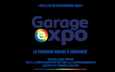 GARAGE EXPO : Le premier salon à distance réservé aux professionnels de la réparation et de la carrosserie automobile et poids lourd.